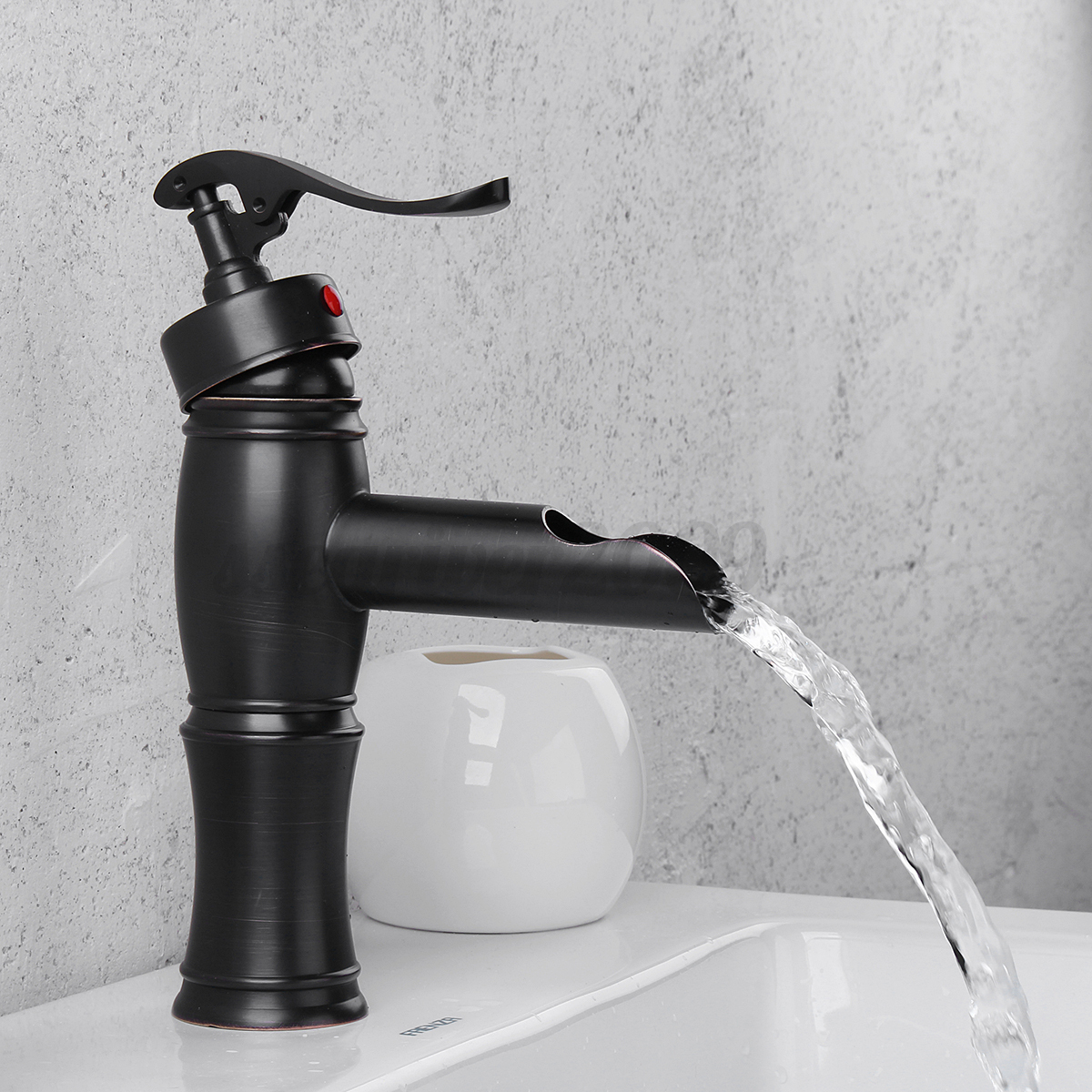 sink faucets kitchen rubbed bronze bathroom waterfall faucet sink vessel 2260