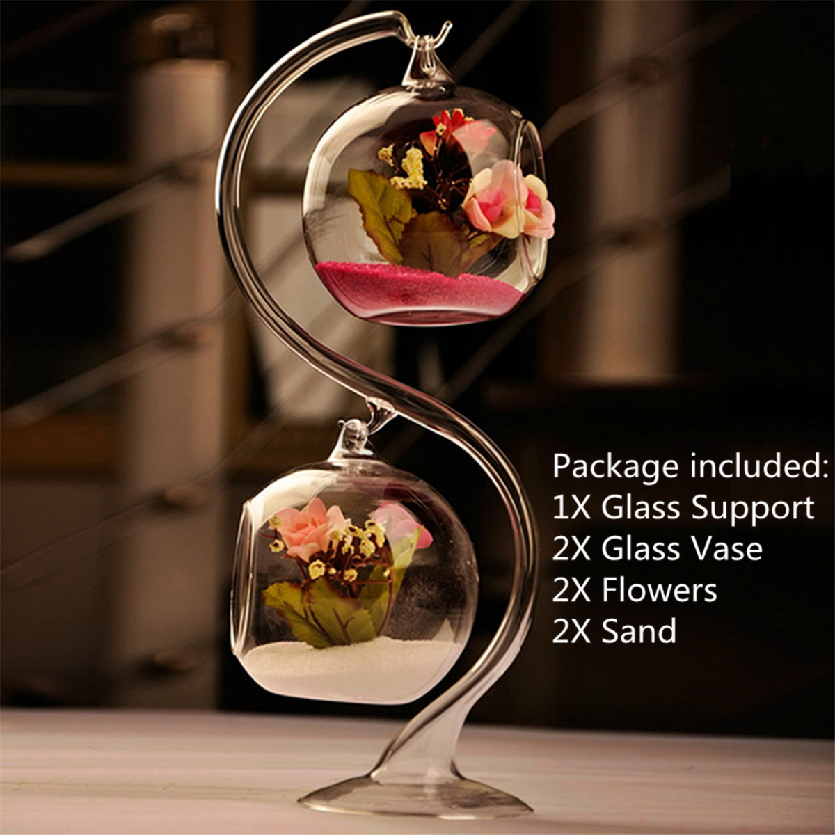S-Type-Hanging-Glass-Ball-Vase-Support-Terrarium-Container-Flowers-Plant-Holder