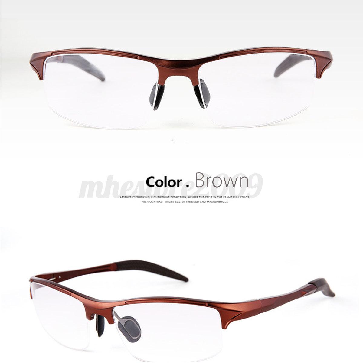 Understanding Eyeglass Frame Measurements : Men Business Sport Eyeglass Myopia Glasses Optical Eyewear ...