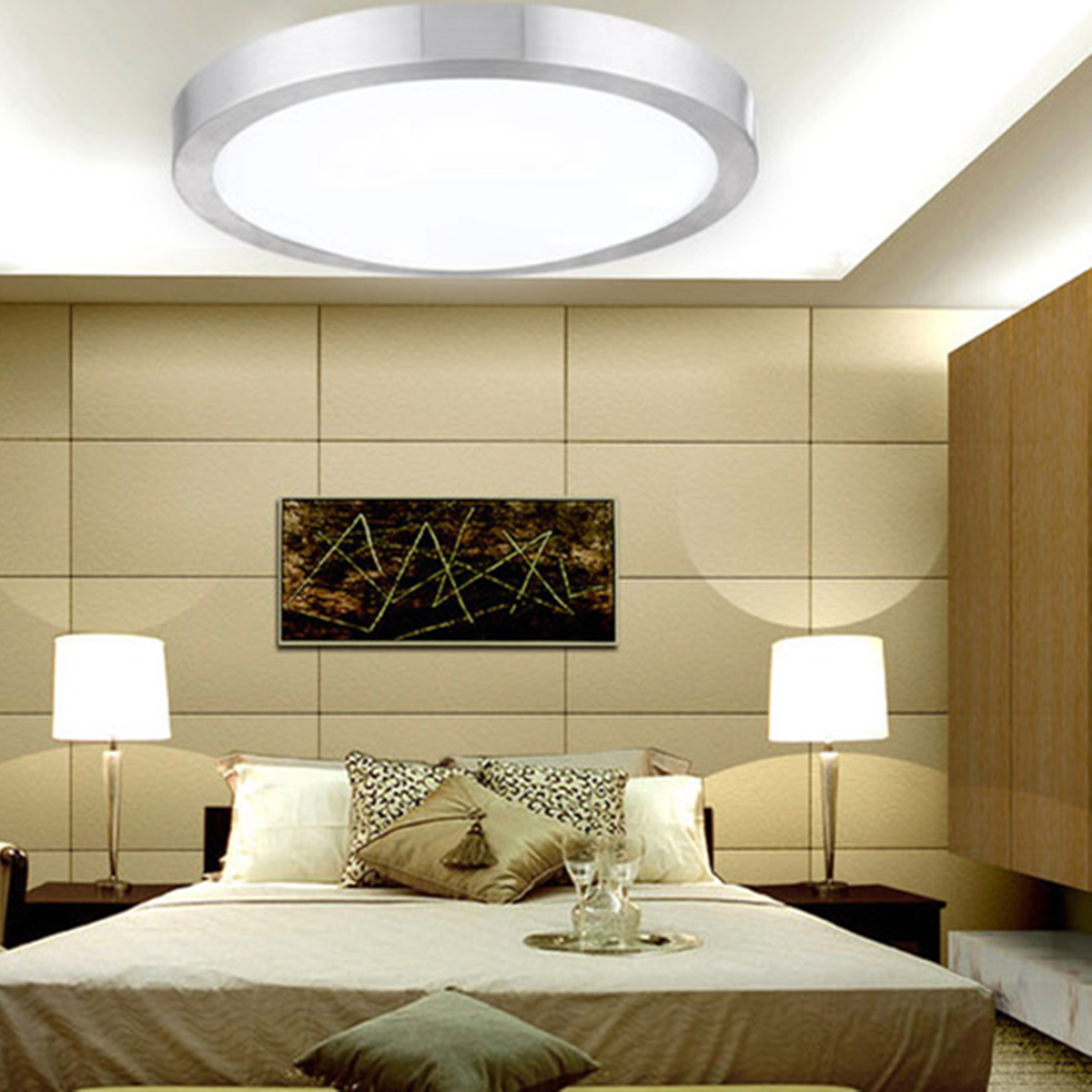 Ceiling Light Fixtures Kitchen: 5-36W LED Round Modern Ceiling Light Home Bedroom Kitchen
