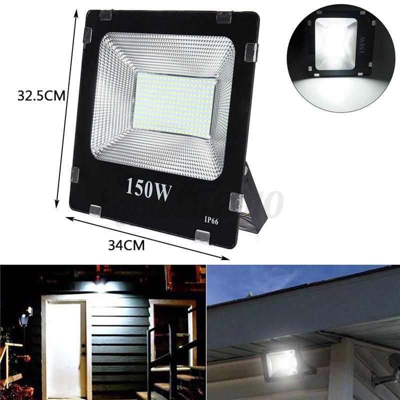 20-30-50-100-200W-LED-Flood-Spot-Light-Projecteur-Lampe-Paysage-Jardin-Exterieur