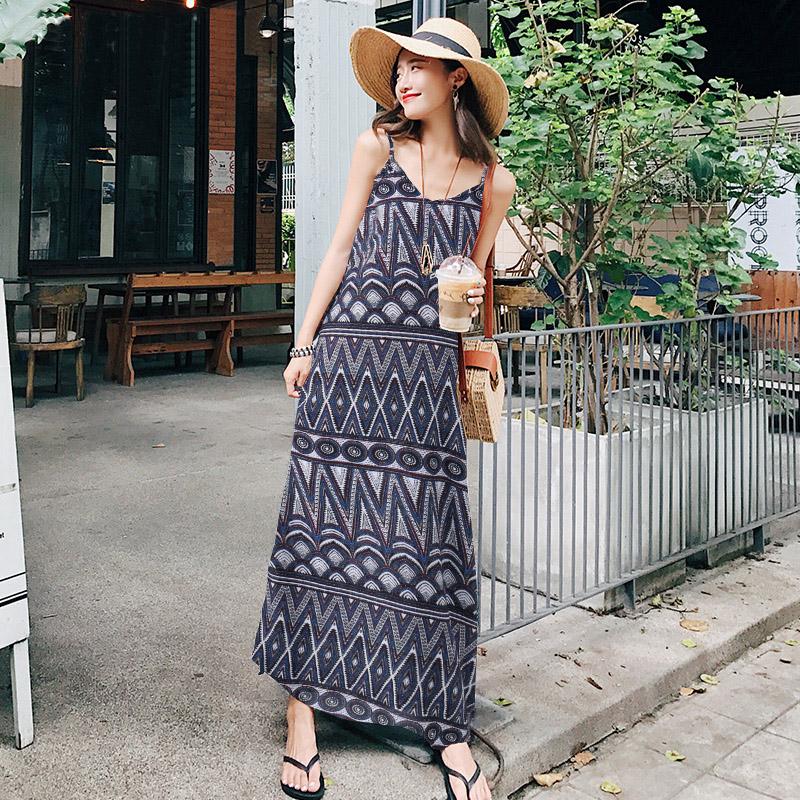 Women-Plus-Size-Sleeveless-Floral-Printed-Sundress-Beach-Party-Kaftan-Tank-Dress