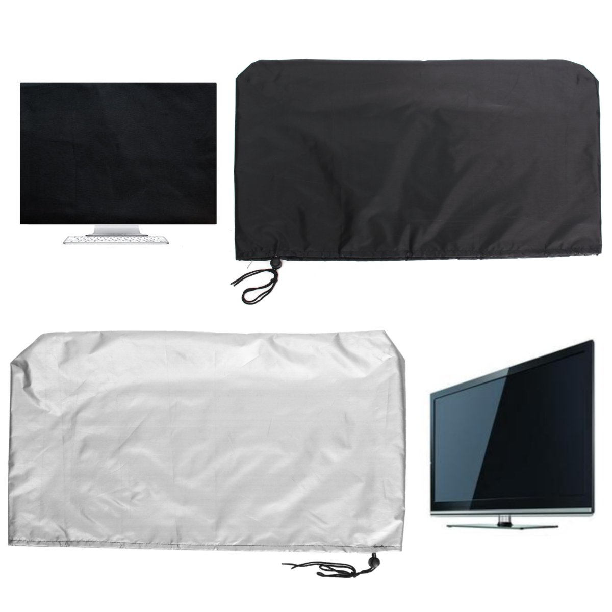 "Computer Tablets Flat Screen Monitor Dust Cover LED PC TV  22/"" Laptop Protector"