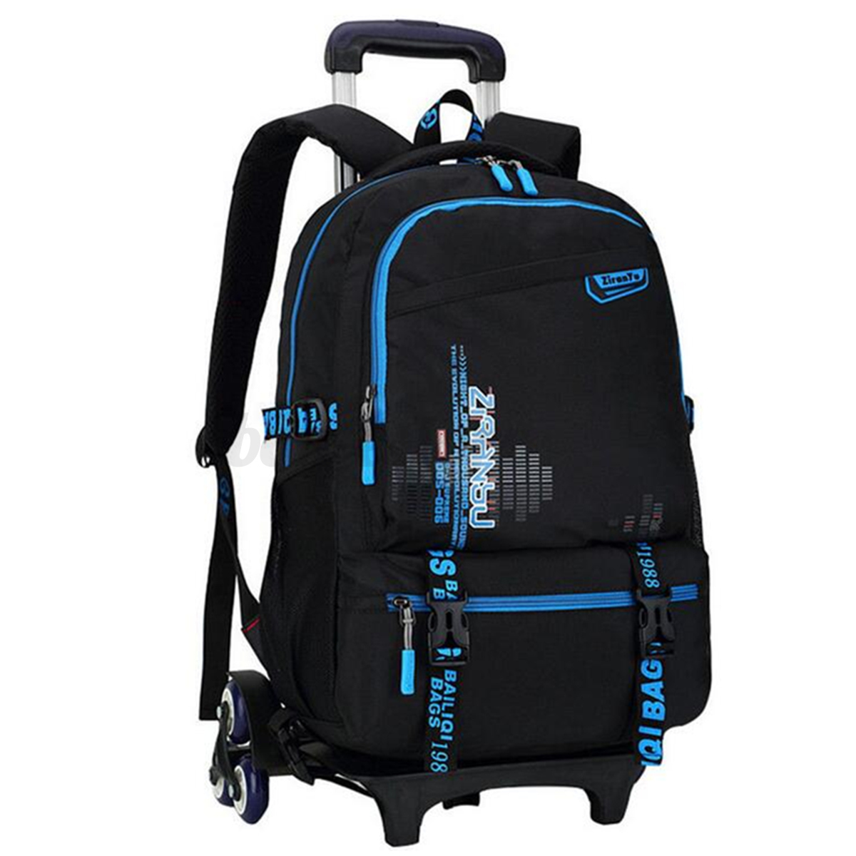 Removable Trolley Backpack Children School Bags Child ...
