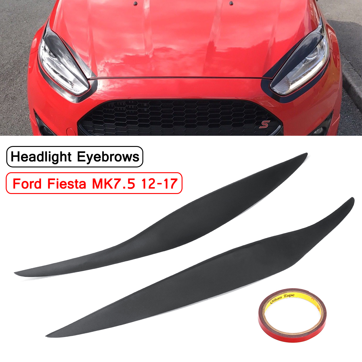 Car Front Headlight Facelift Eyebrow Eyelids Cover Lid For Ford Fiesta Mk7 5 Mk8 Archives Statelegals Staradvertiser Com