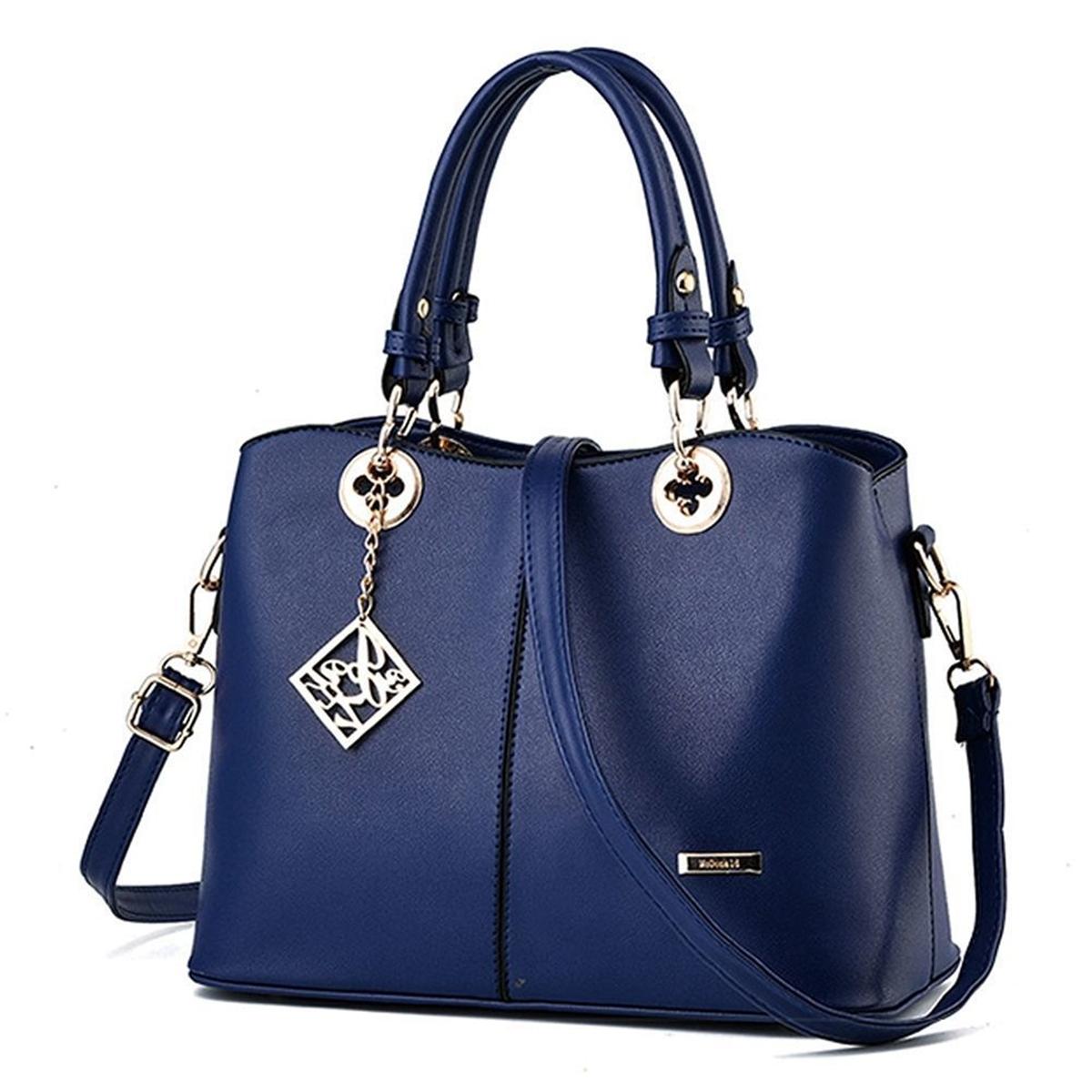 Women-Leather-Handbag-Shoulder-Messenger-Lady-Satchel-Tote-Crossbody-Bags-Purse