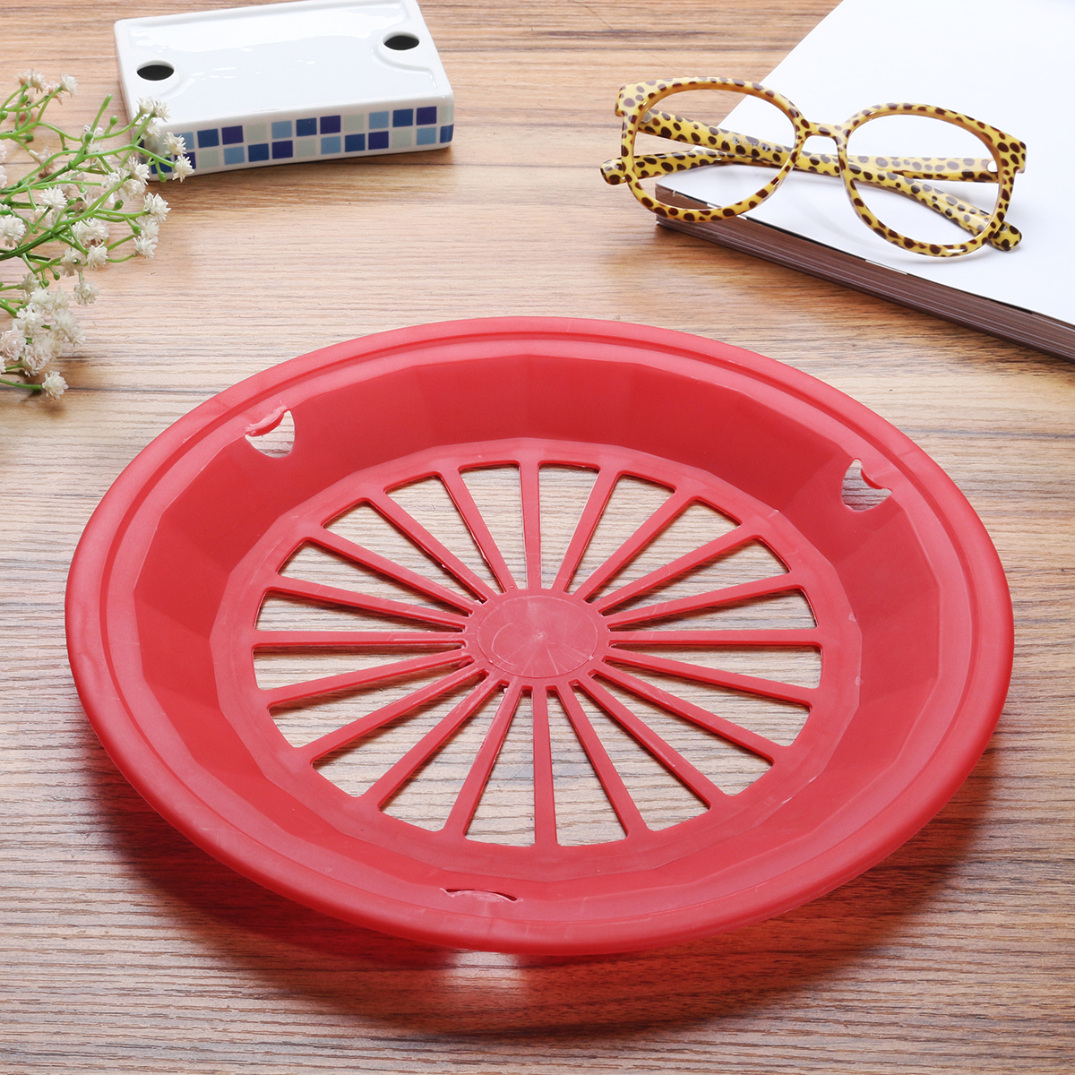 10 6 plastic paper plate holders picnic bbq parties camping
