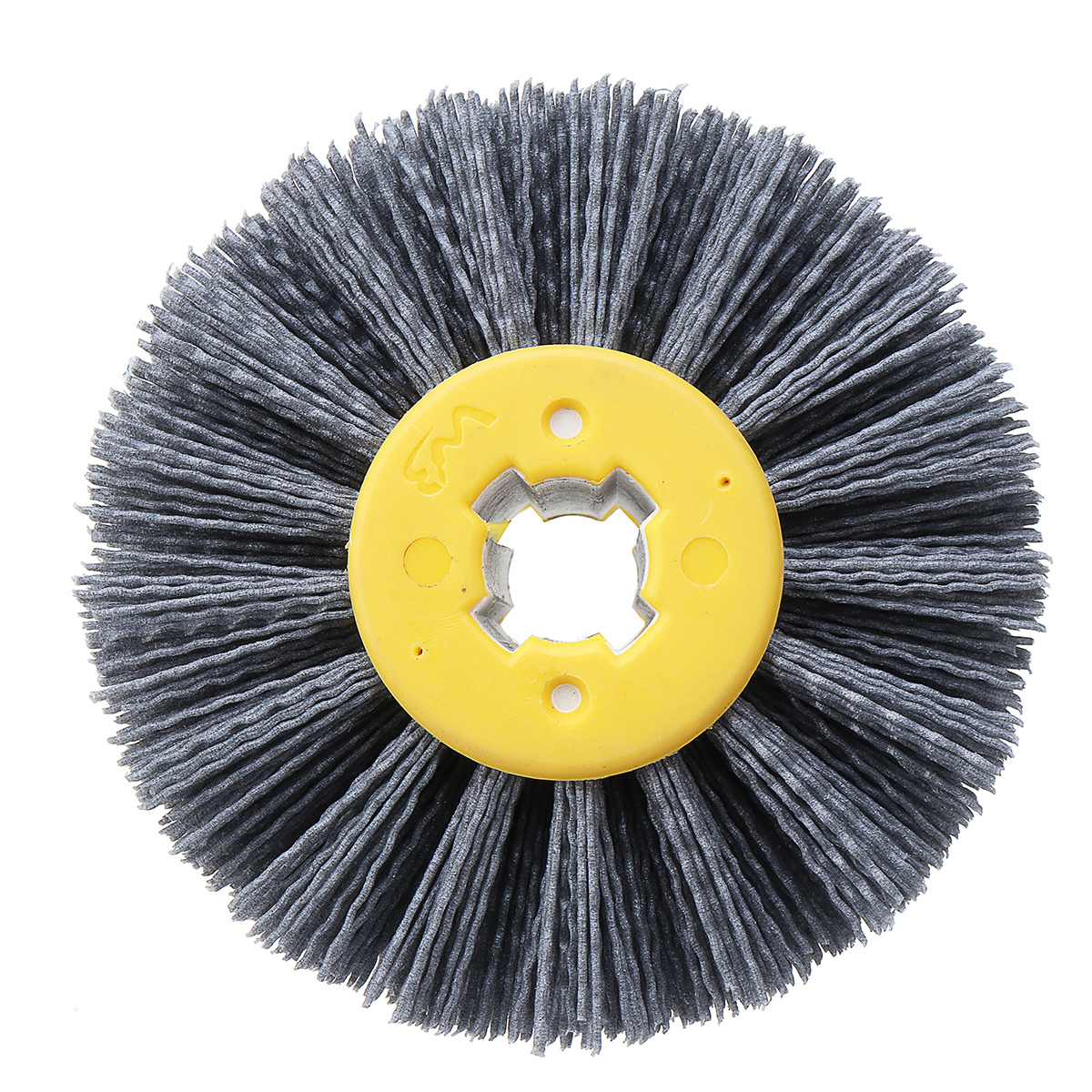 180 Grit 100120mm Abrasives Wire Brush Wheel for 9741 Wheel Sander Furniture Polishing Grinding Buffing Wheel Woodworking Tools
