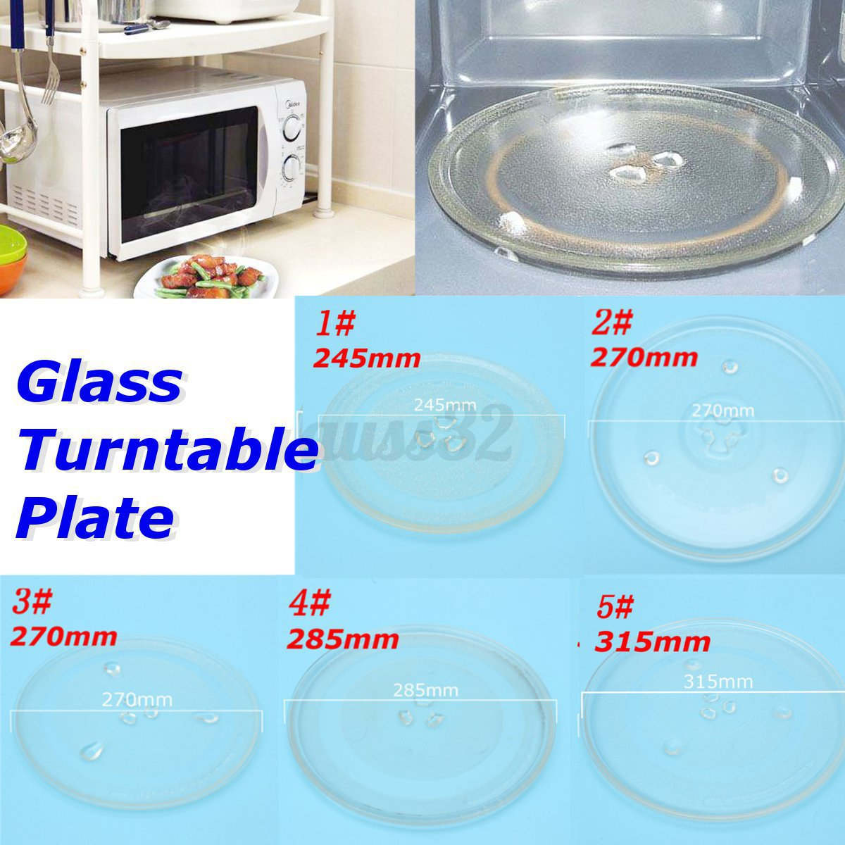 Gl Turntable Plate Platter