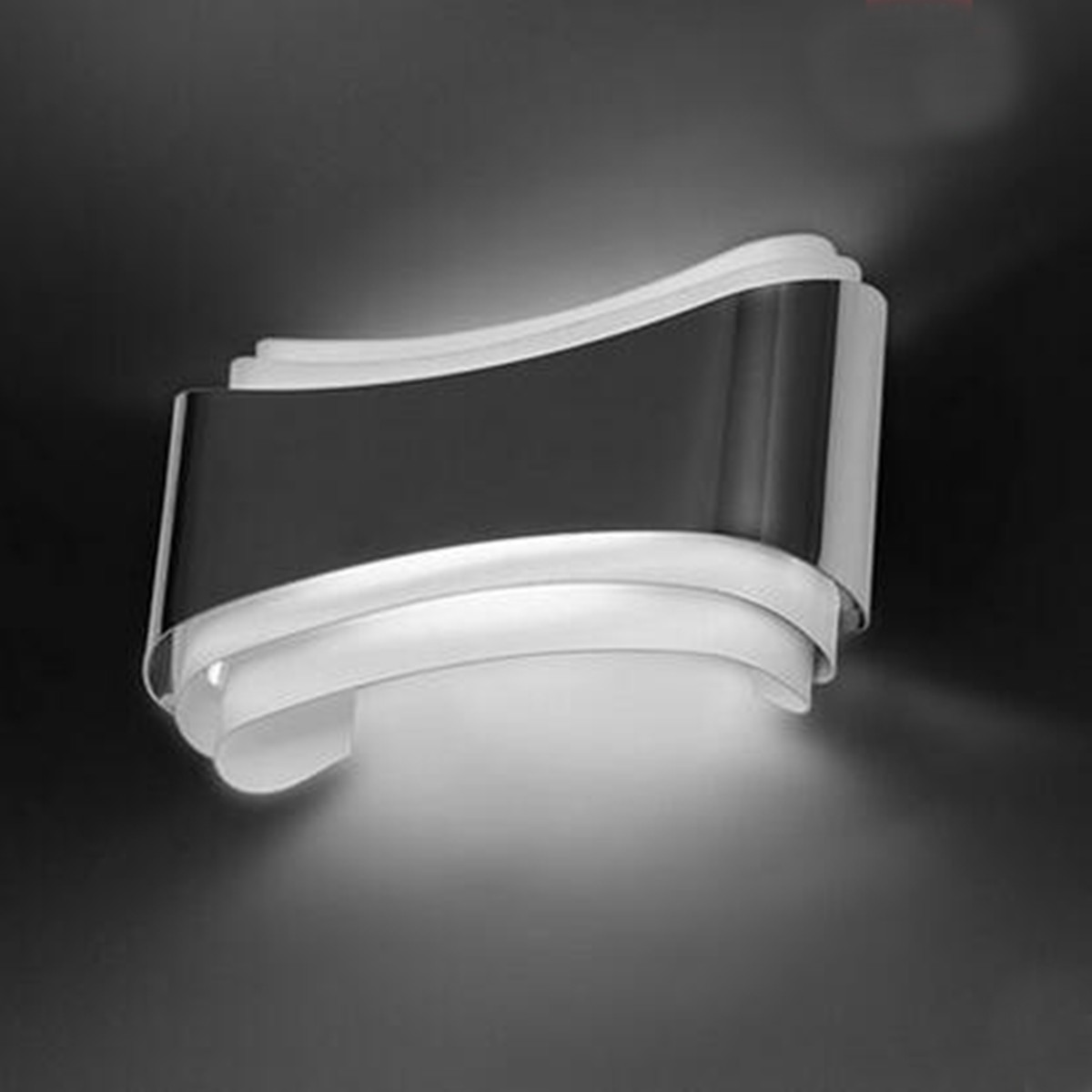 Led Light Enclosed Fixture: Modern LED Wall Light Up Down Lamp Sconce Fixture Cube