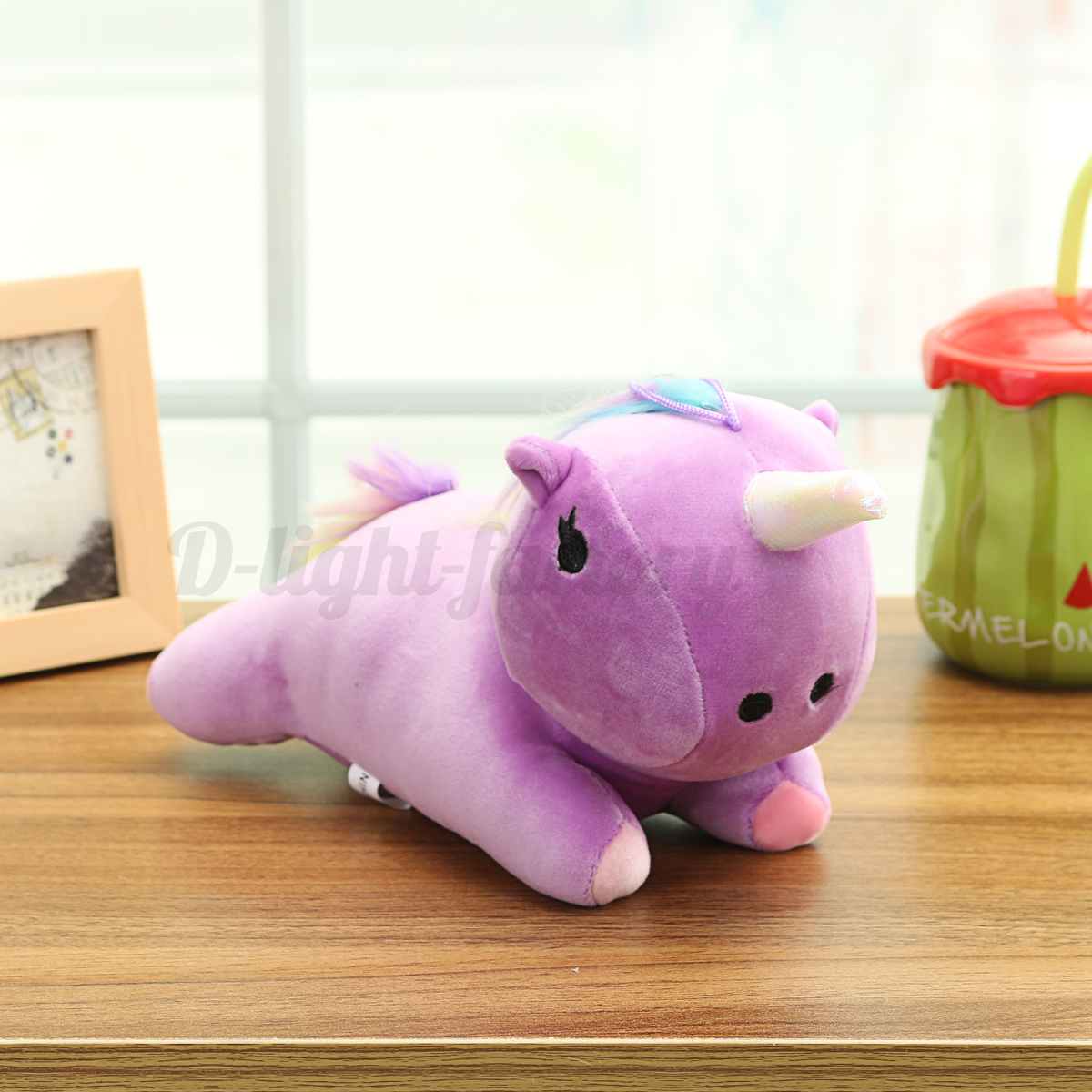 Unicorn Plush Doll Animal Cushion Pillow Toy Home Office Sofa Bed Car Decor Gift eBay