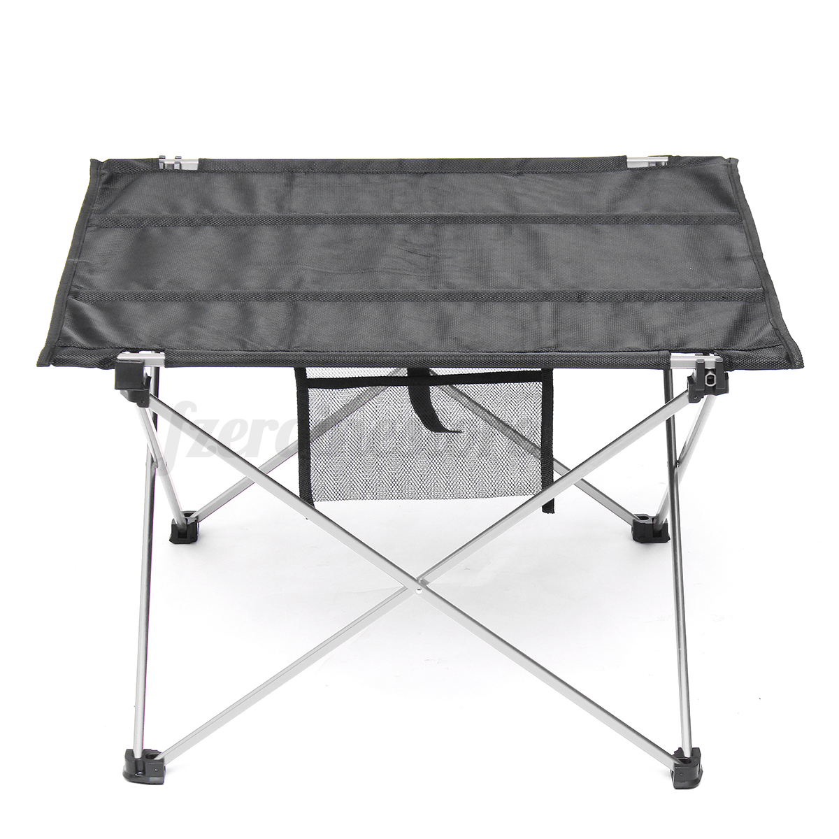 Mesa plegable de aluminio port til camping terraza jard n for Mesa plegable portatil