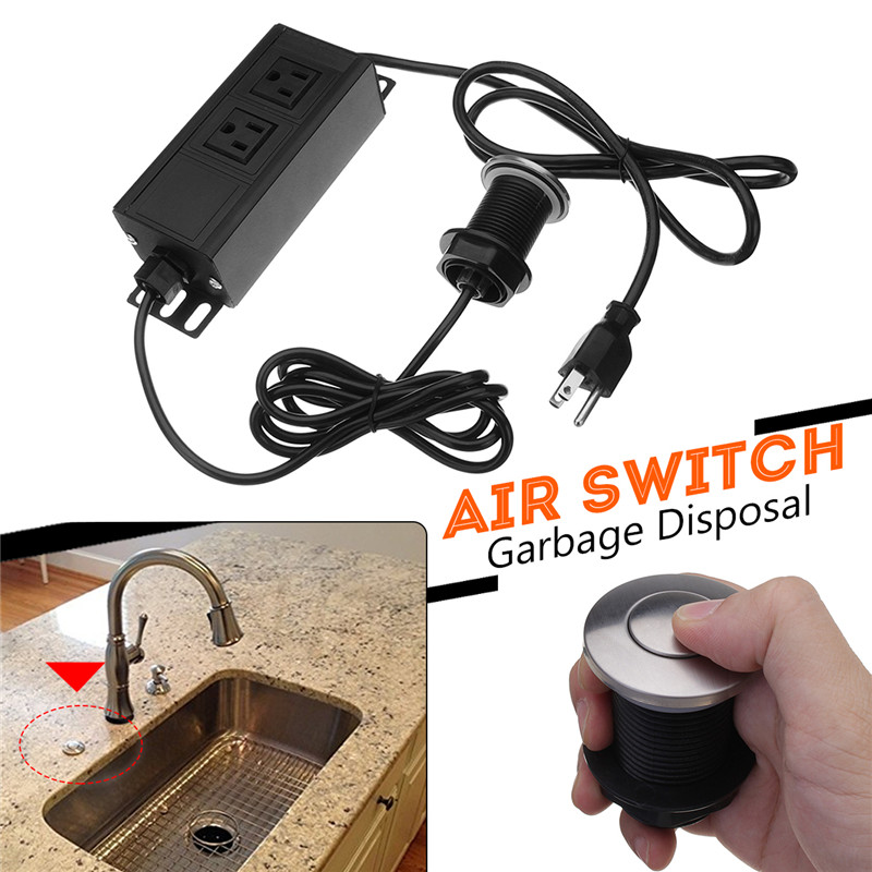 Details About Garbage Disposal Air Switch Part Embly Push On Sink Pressure
