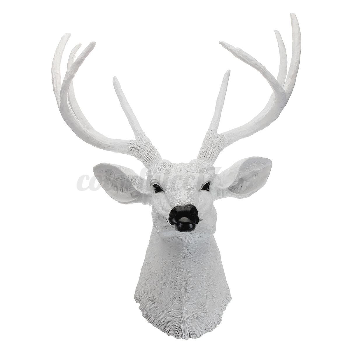 decor deer top cheap wall on head art marvelous stag paris finesse sunburst