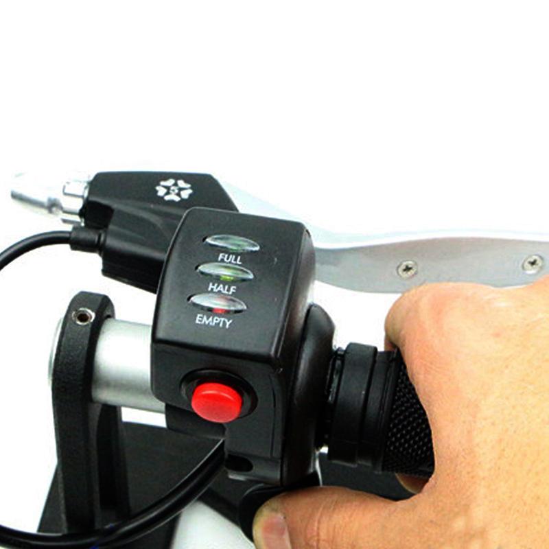 36V //48V Daumengas Daumengasgriff Gashebel Mit Schalter Für E-Bike Elektrorolle