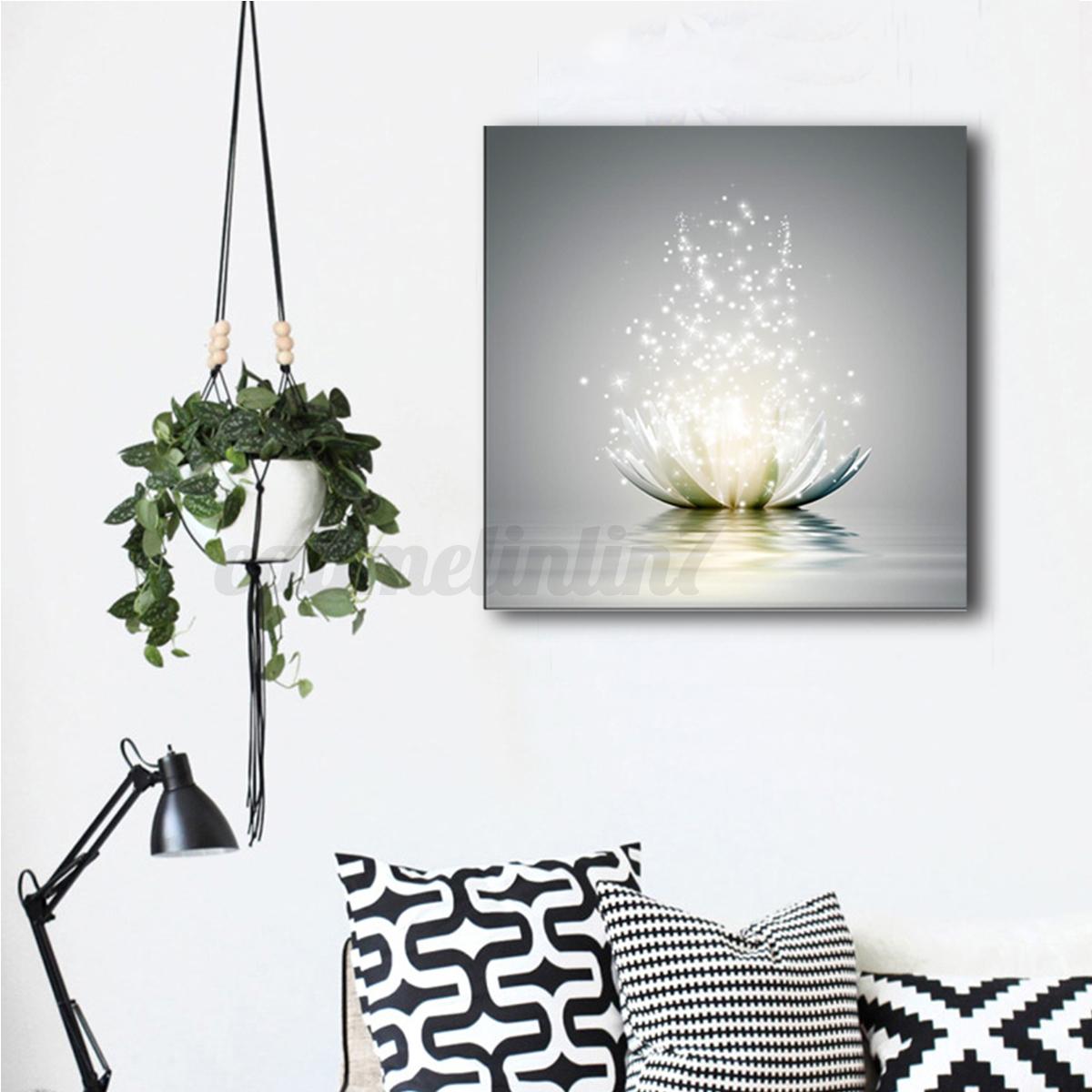 Modern Art For Home Decor: Framed Abstract Art Canvas Print Modern Oil Painting