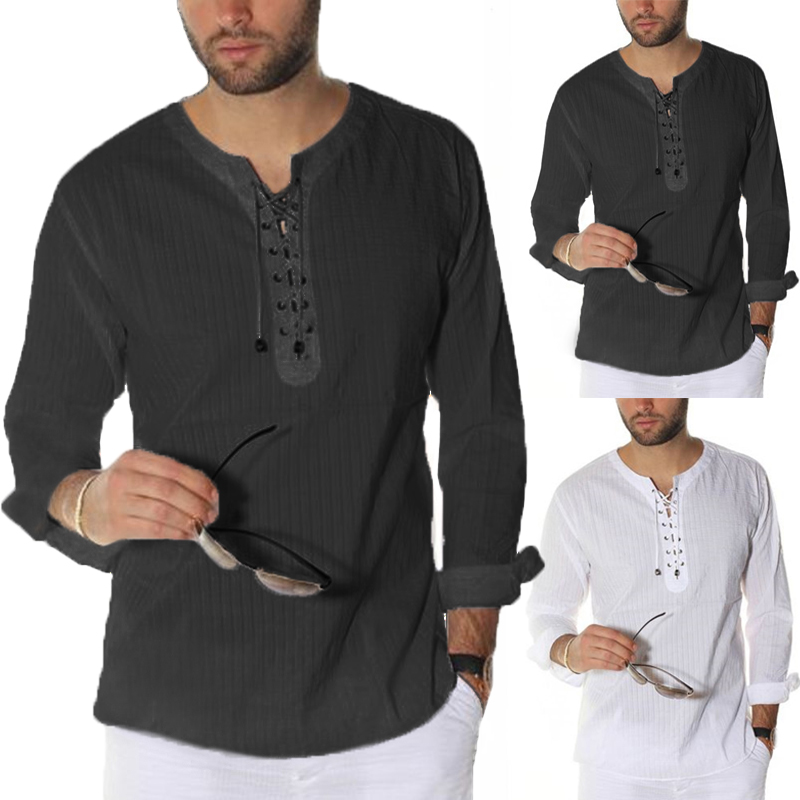 Esast Mens Casual Long Sleeve Button Down Dress Shirts Tops Blouses