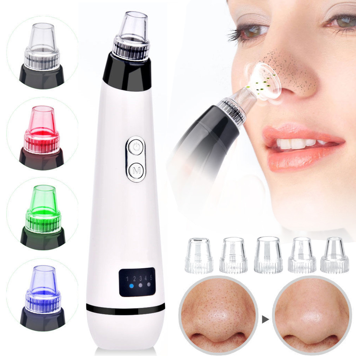 Electric-Facial-Pore-Blackhead-Removal-5-Vacuum-Suction-Cleaner-Machine-Beauty
