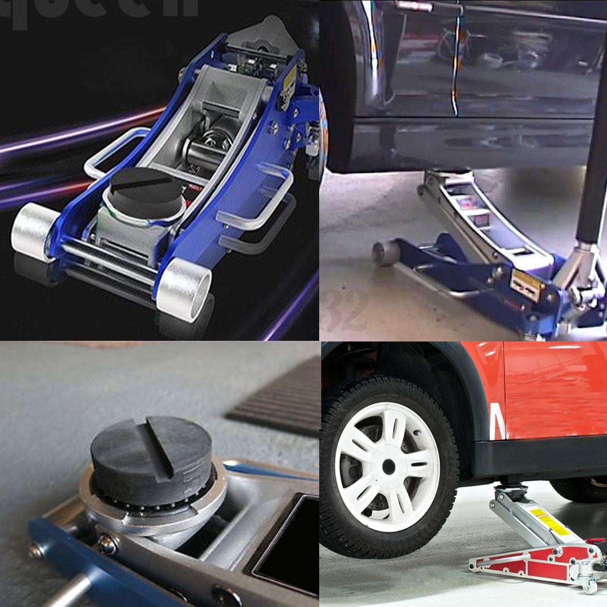 75mm bloc caoutchouc cric levage automobile tampon hydraulique auto voiture 2ton ebay. Black Bedroom Furniture Sets. Home Design Ideas