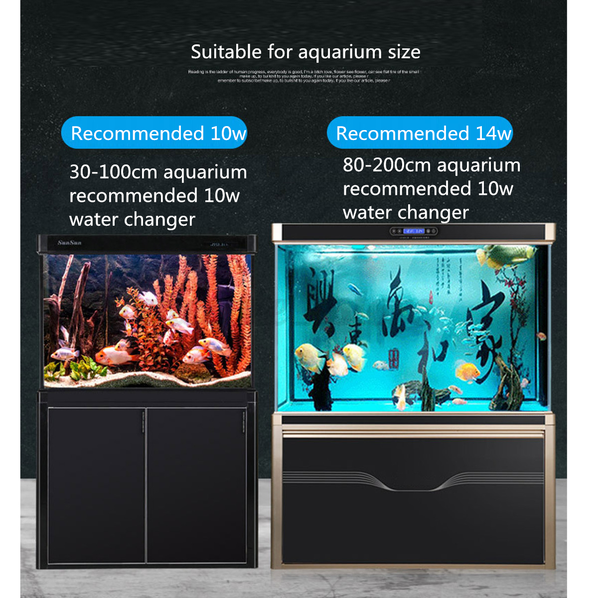 how to clean aquarium with sand