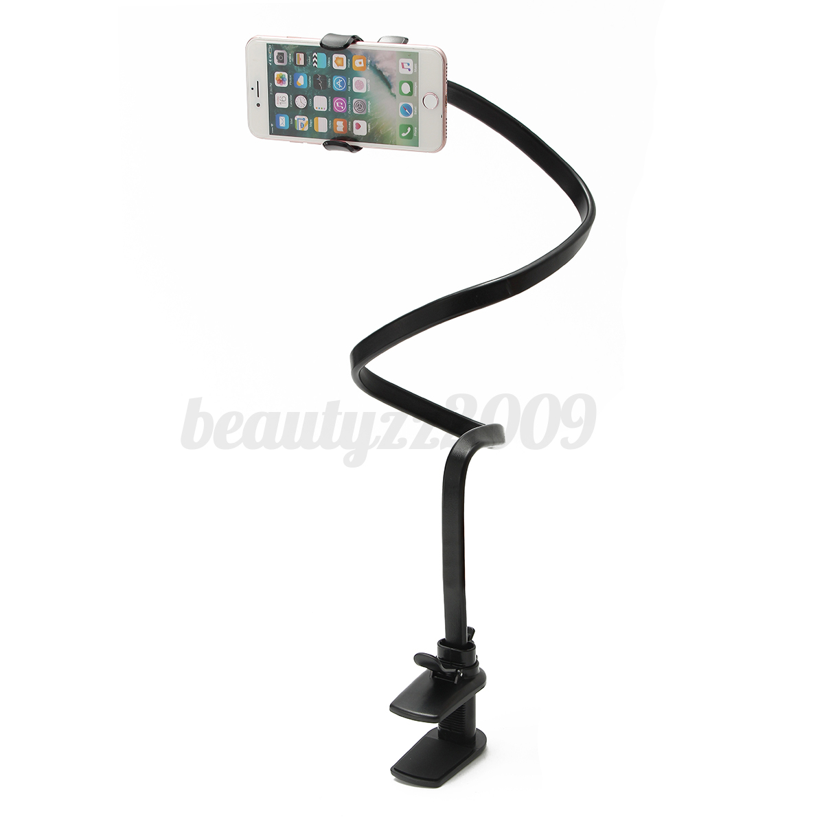 360-Rotating-Snake-Style-Wearable-Flexible-Neck-Mobile-Phone-Clip-Stand-Holder