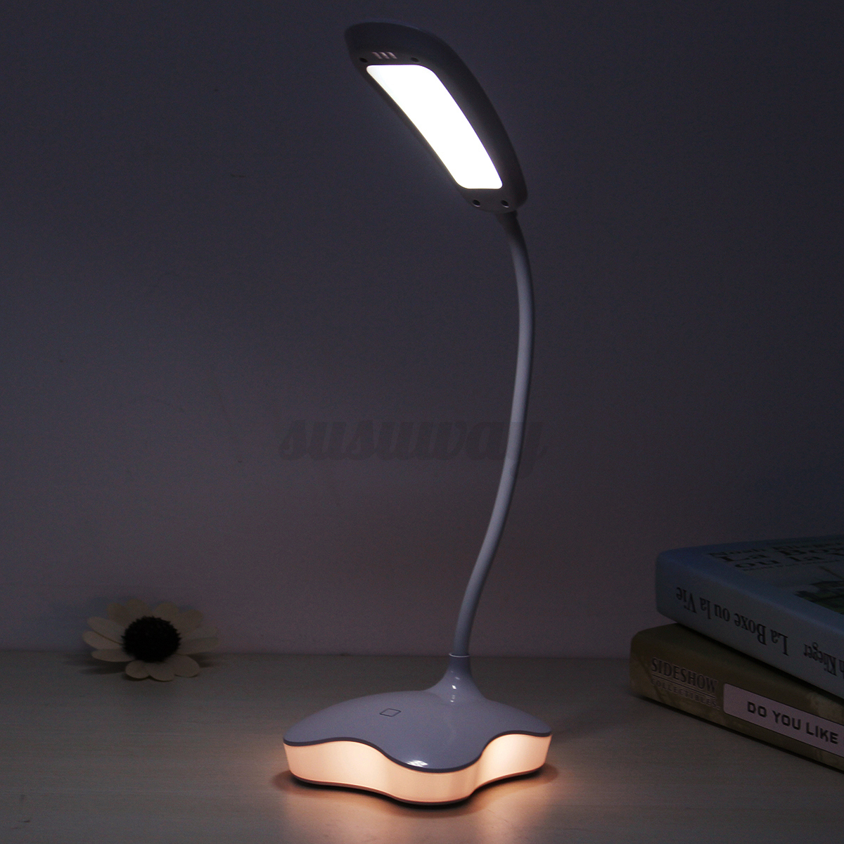 Portatil-USB-LED-regulable-INTERRUPTOR-DE-CONTACTO-LUZ-LED-Lampara-Escritorio