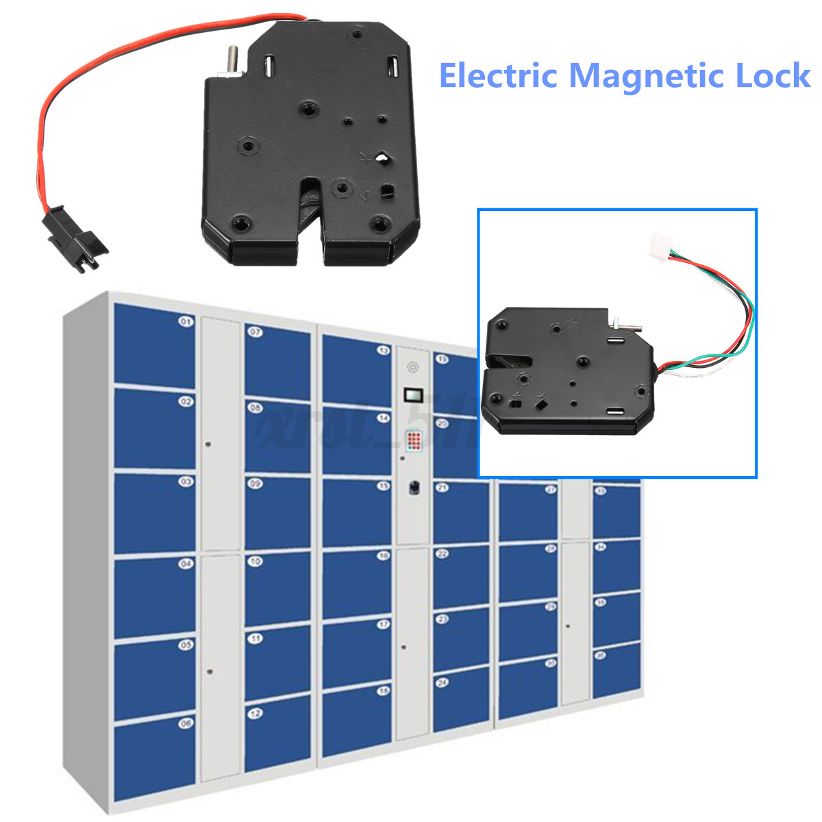 Image is loading 150KG-330lb-Electric-Magnetic-Lock-Door-Access-Control-  sc 1 st  eBay & 150KG 330lb Electric Magnetic Lock Door Access Control Cabinet ...