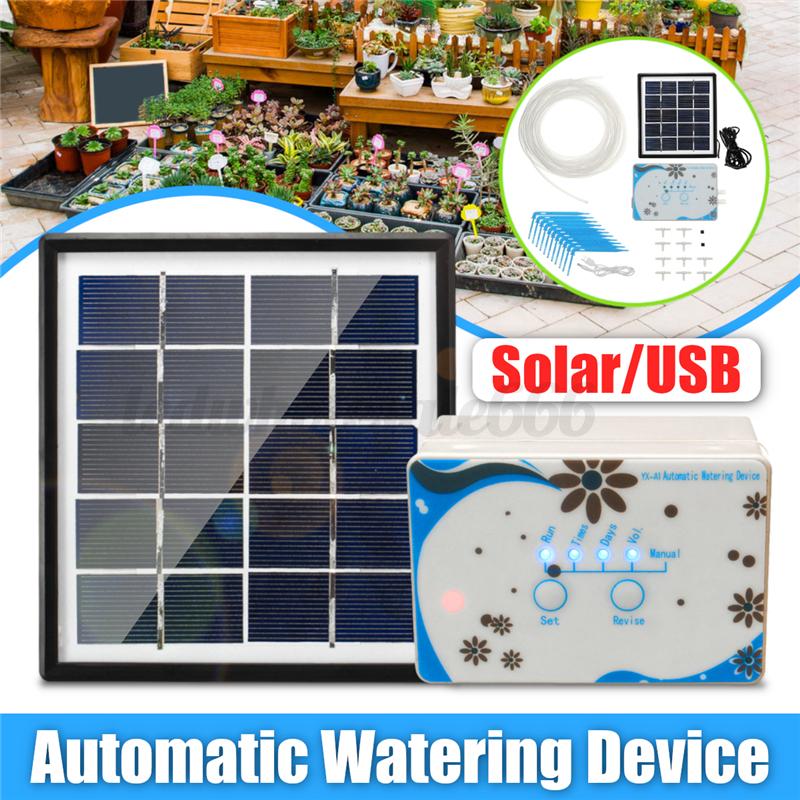 Solar Micro Automatisch Bewässerungssystem Tropfbewässerung USB Aufgeladen Timer | | | Neuartiges Design  | Exquisite Handwerkskunst  | Merkwürdige Form  57b186