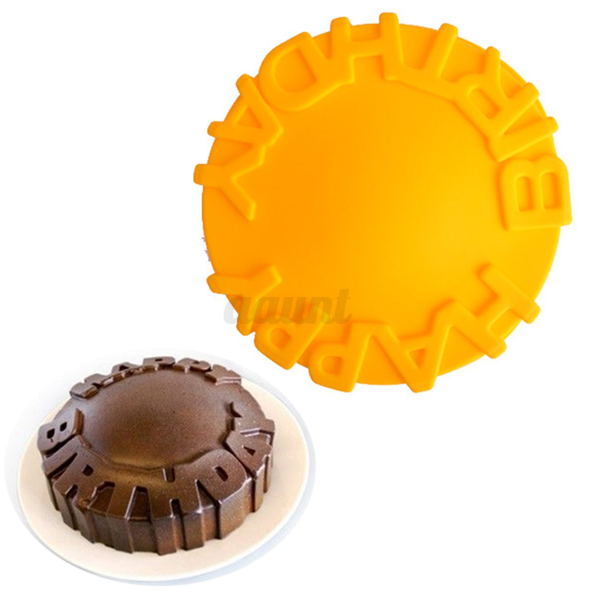 Silicone Fondant Cake Pan Mold Mousse Chocolate Pastry