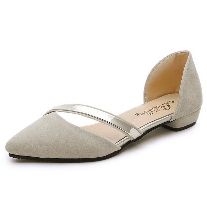 US-Women-Ladies-Ballet-Flats-Ballerina-Slippers-Casual-Slip-On-Loafers-Shoes thumbnail 10