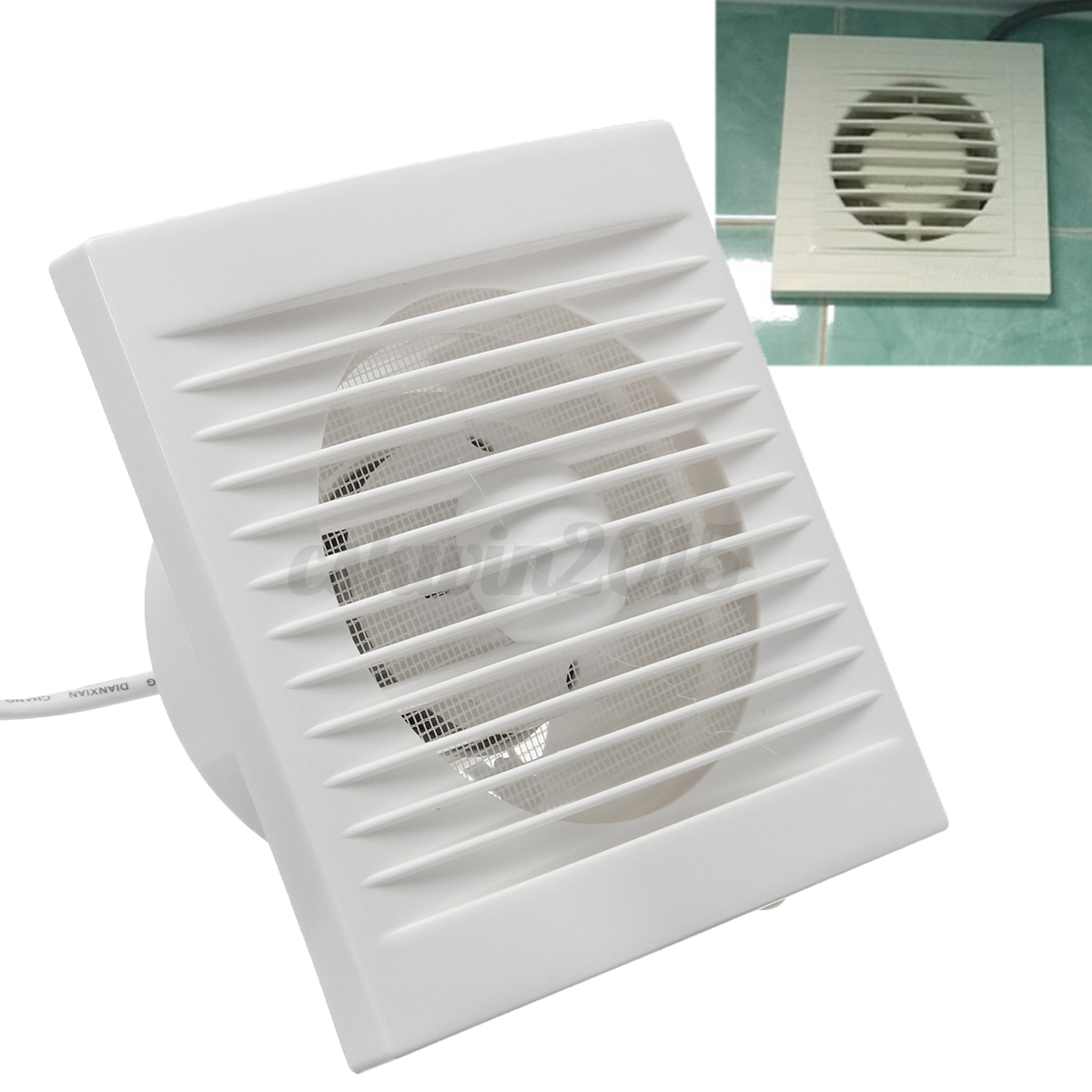 4 220v 12w exhaust fans ventilator extractor blower for 4 kitchen exhaust fan