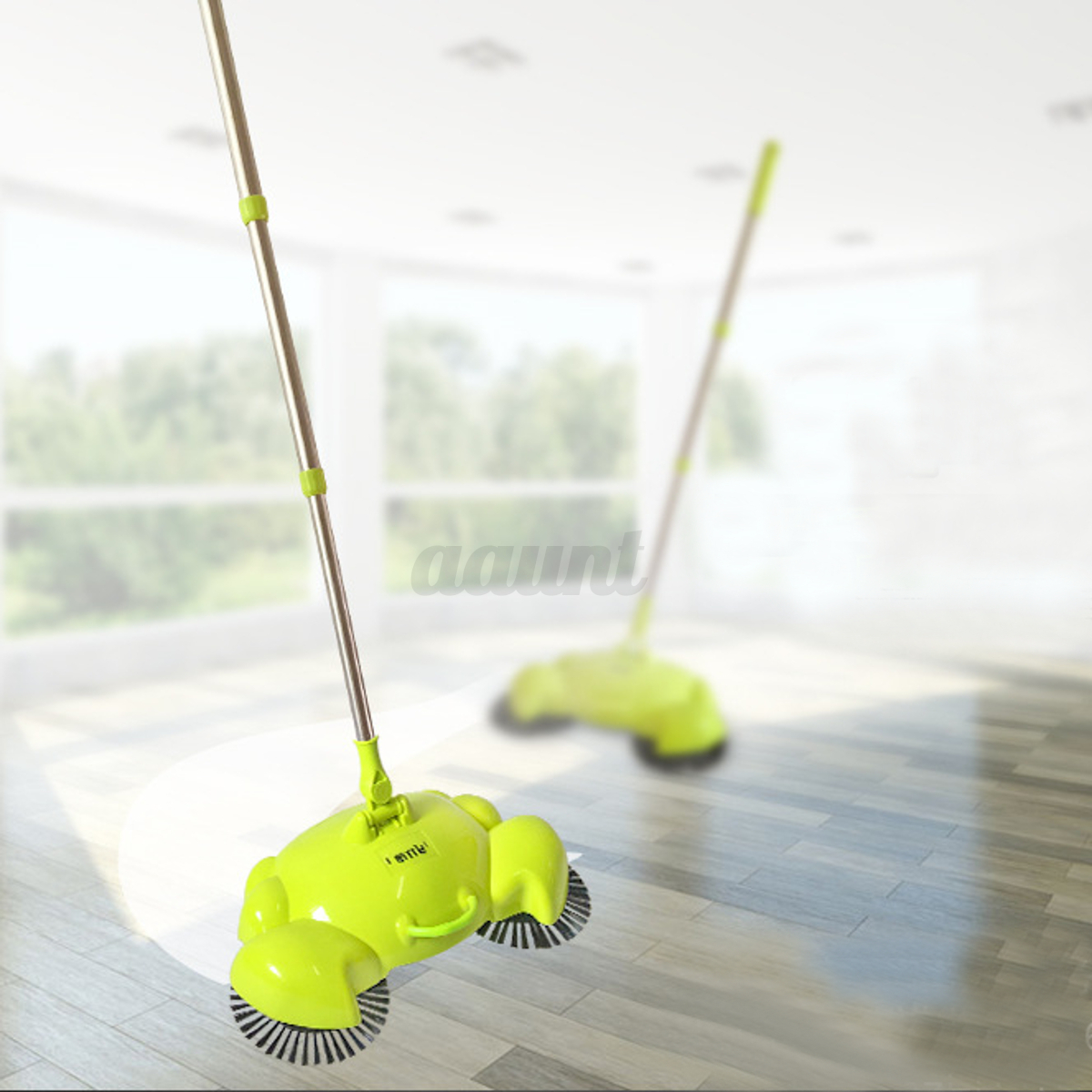 New Automatic Hand Push Sweeper Broom Household Cleaning