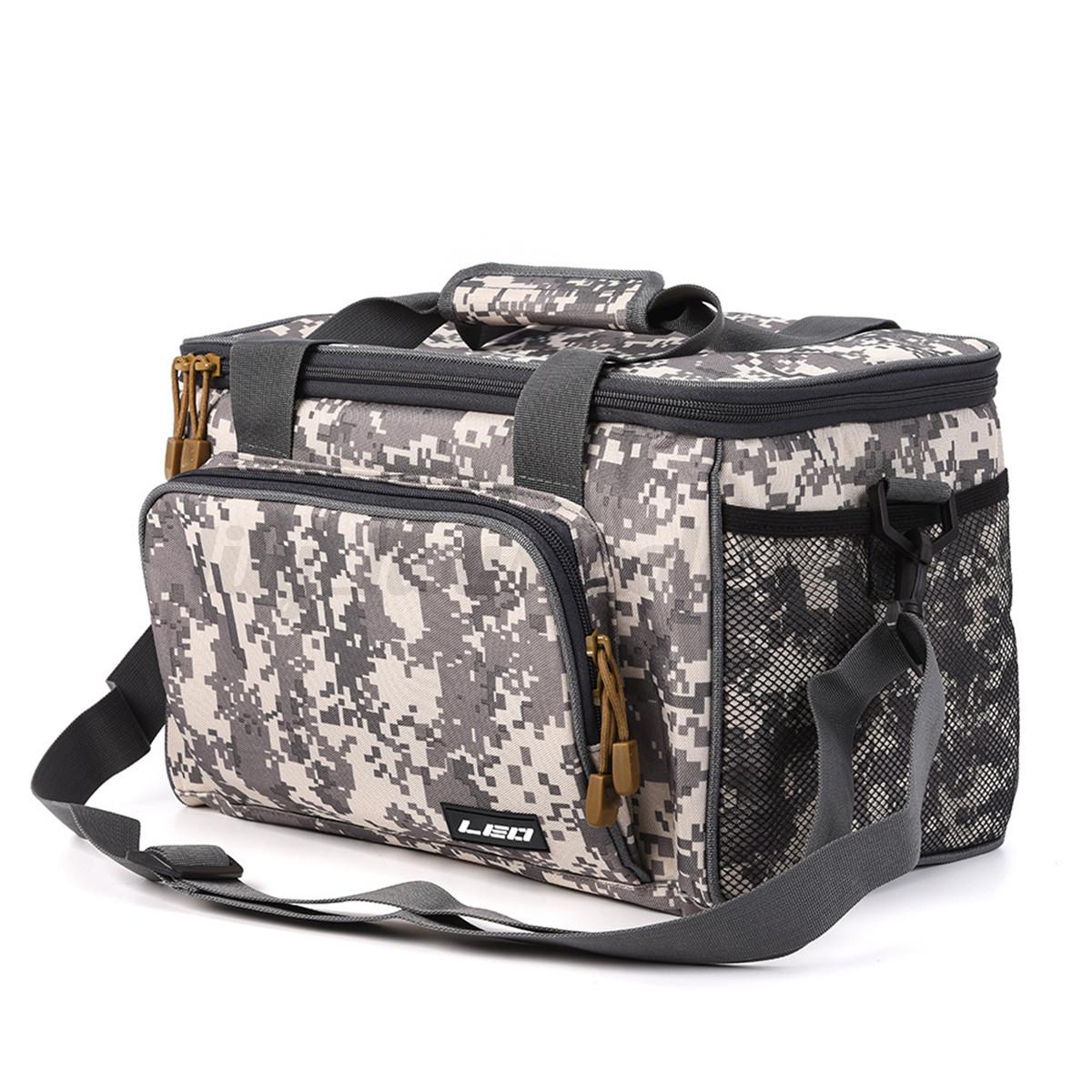 Indexbild 14 - Grossen-Angelgeraet-Tasche-Pack-Taille-Schulterrolle-Getriebe-Lagerung-Handtasche