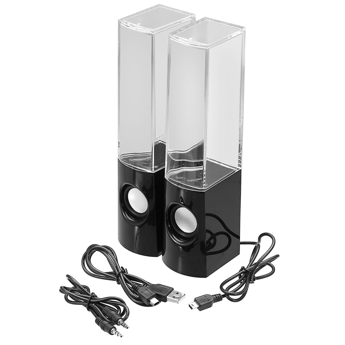 LED Dancing Water Light Bluetooth USB Speakers Show .