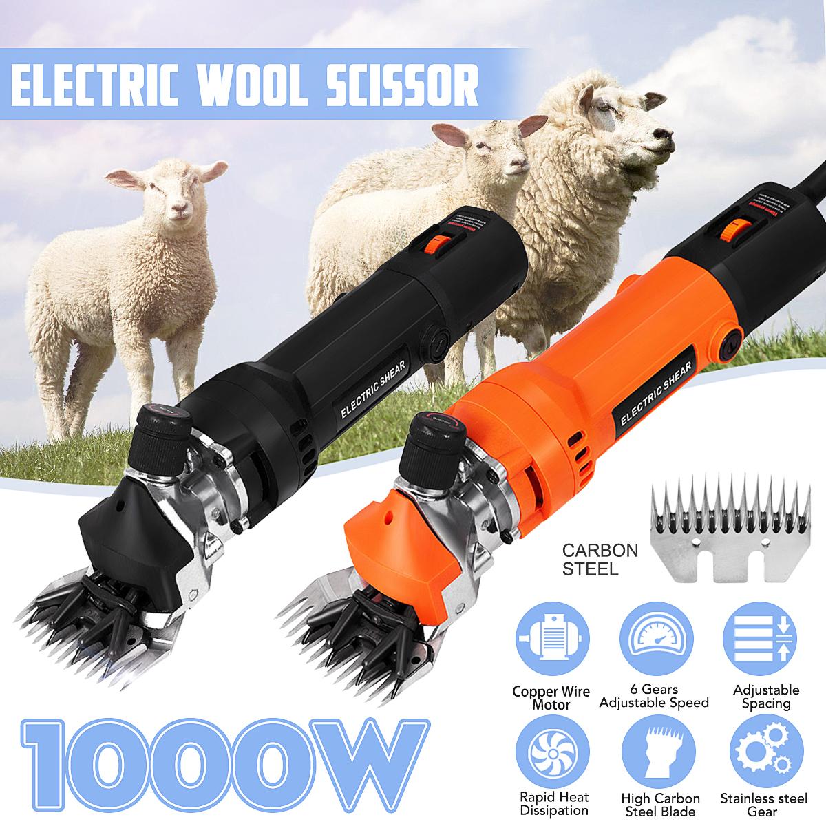 1000W 220V Elektrisch Schafschermaschine Schafe Schermaschine Schafschere Messer