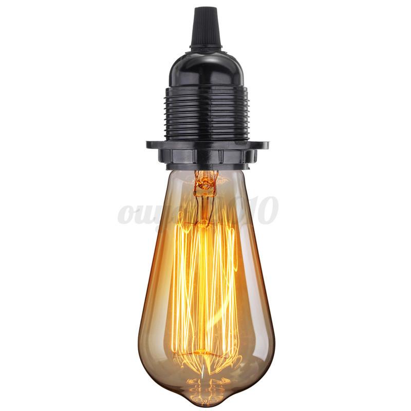 E27 Industrial Vintage Light Socket Keyless Hanging