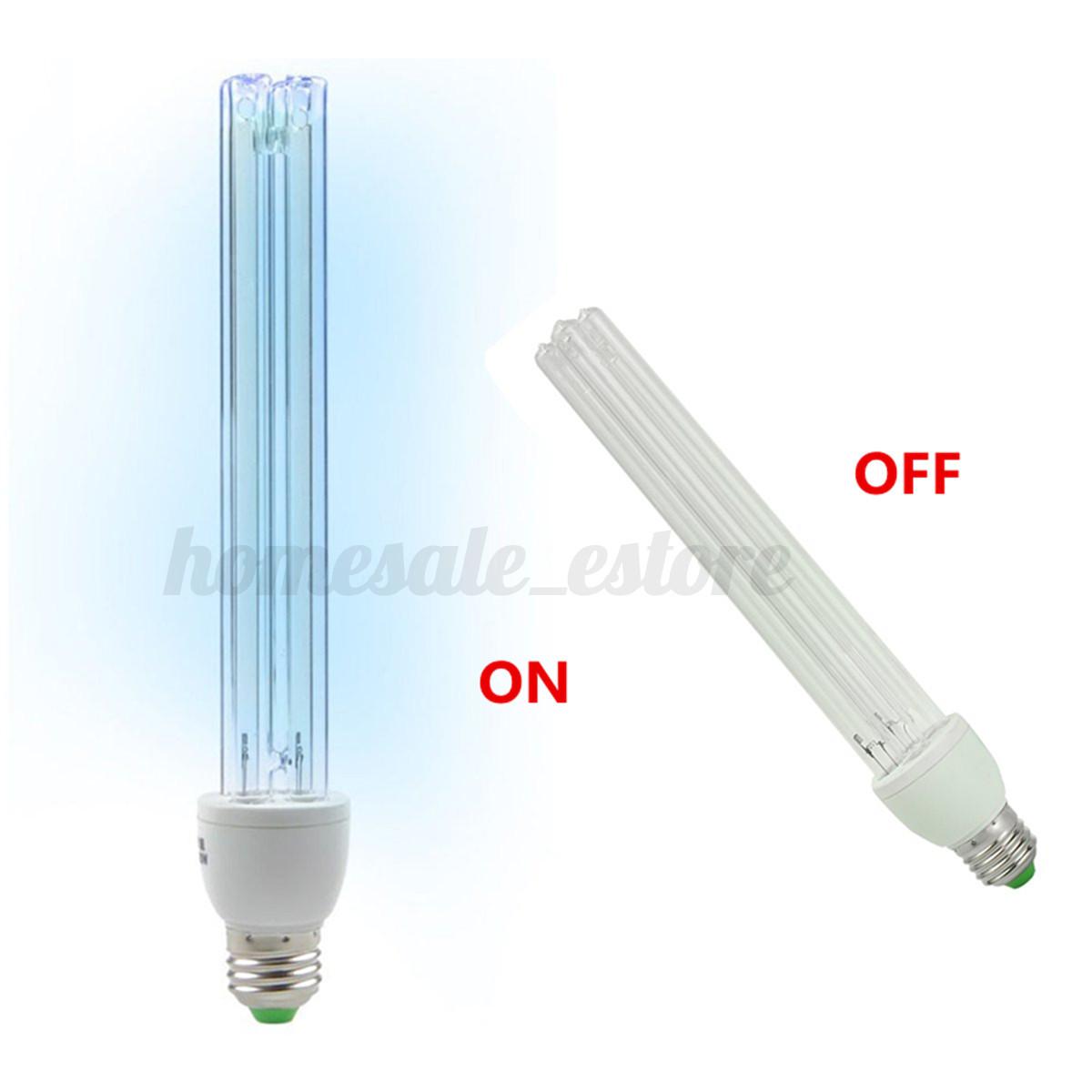 20W E27 Ultraviolet disinfection lamp 220V UVC Ozone Sterilization Mite Light