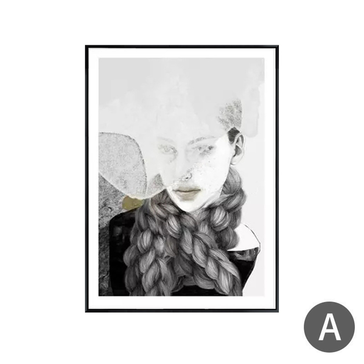 Modern-Canvas-Print-Painting-Art-Abstract-Unframed-Picture-Wall-Hangings-Decor