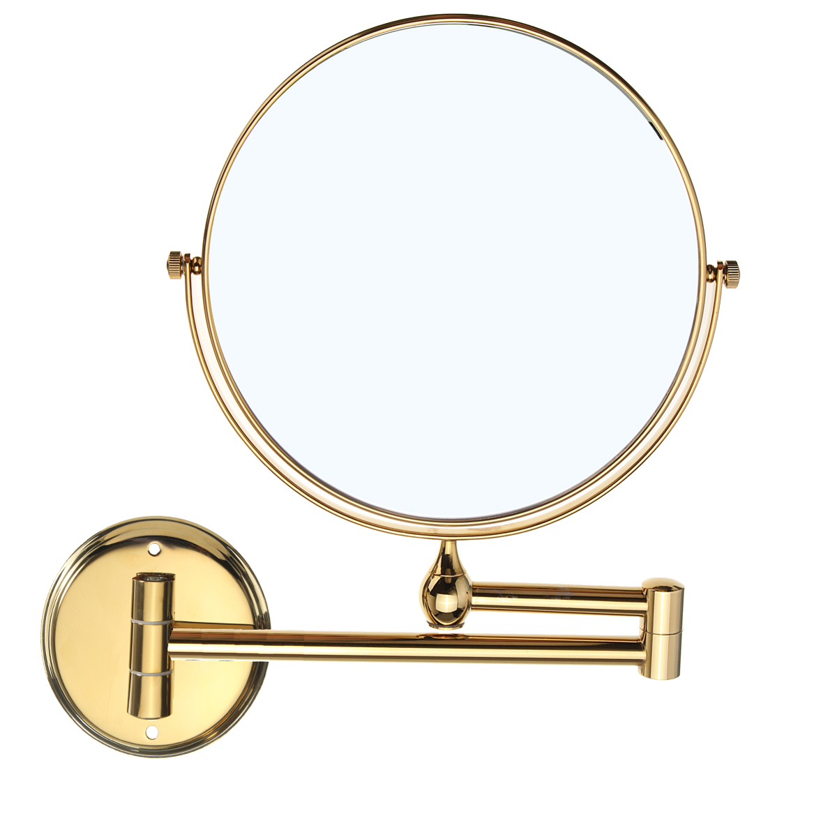 10x Magnifying Extending Bathroom Make Up Swivel Wall Mounted ...