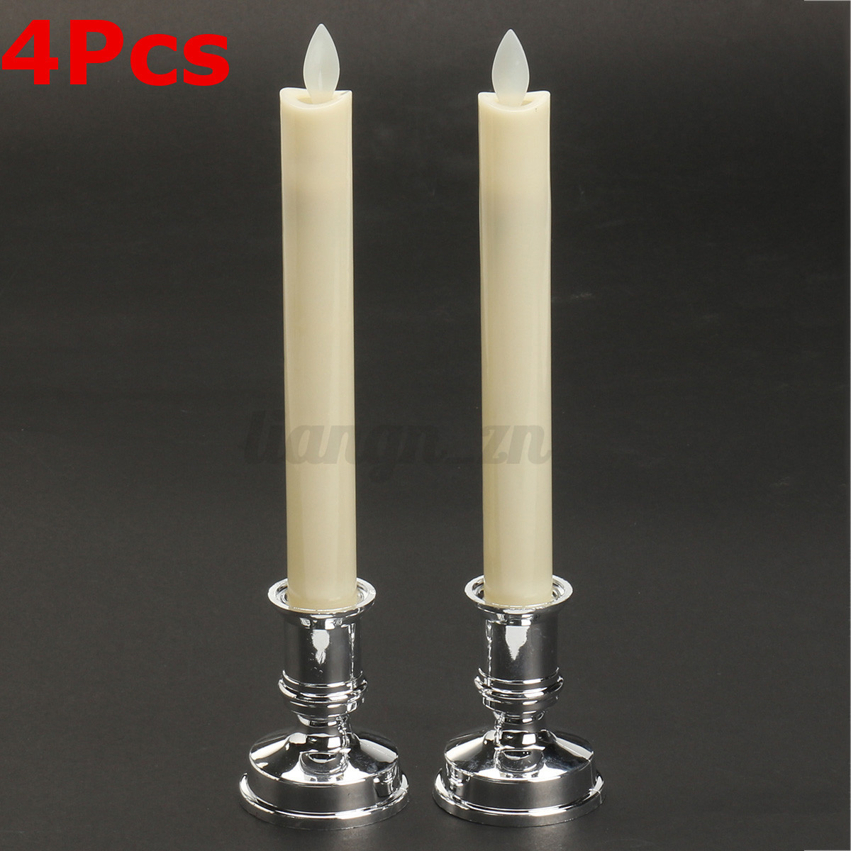 4x-LED-Dinner-Candle-Battery-Operated-Swing-Flame-Moving-Wick-5-6-25-5cm