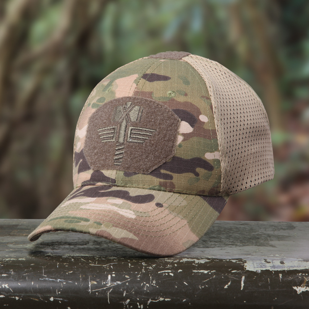 Homme-Camouflage-Tactique-Militaire-Chapeau-4-Couleurs-Chasse-Base-ball-Hiking