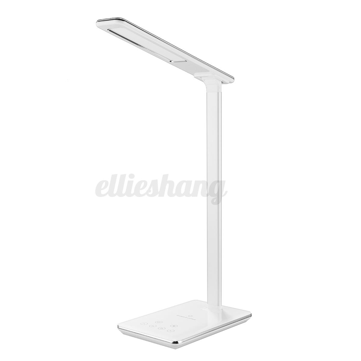 LED-Lampe-Table-Tactile-Pliable-Veilleuse-amp-QI-Sans-Fil-Chargeur-USB-Pr-iPhone-X