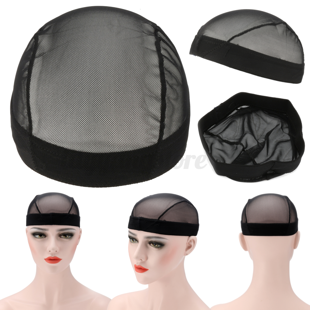 Mesh Wig Cap For Wig Making Adjustable Weaving Wig Caps