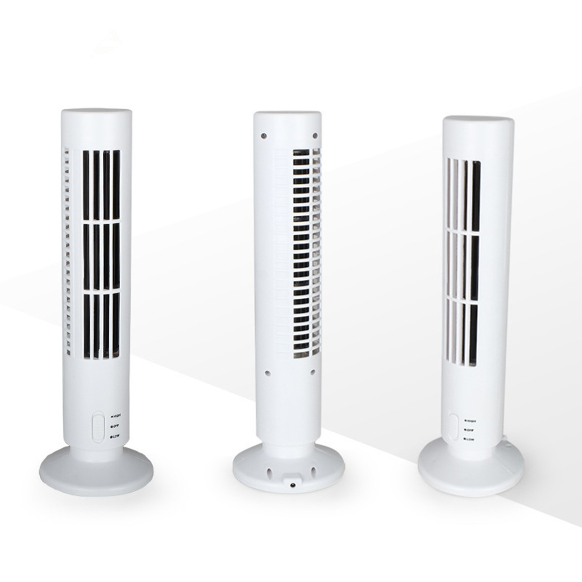 USB Tabletop Tower Fan Upright Air Conditioner Mini