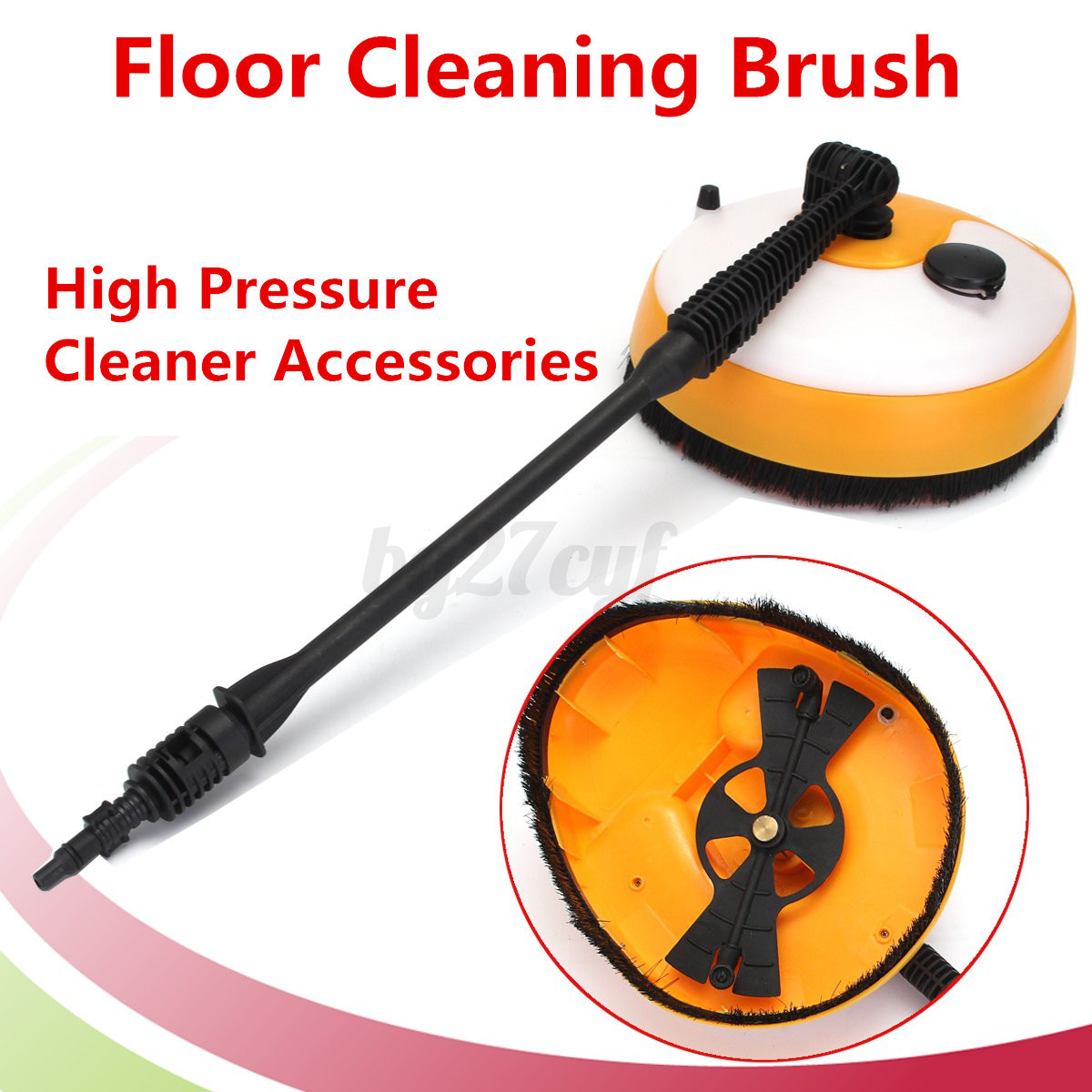 Pressure washer floor concrete surface cleaner power jet for Concrete pressure washer
