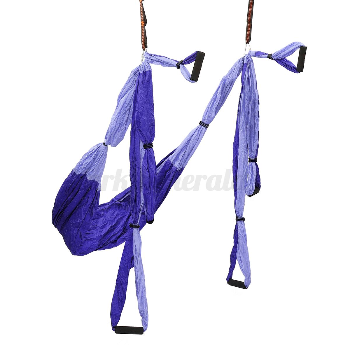 210T Hängematte Hängematte Hängematte beharrlich Yoga Swing Schaukel Tuch Fitness Übungen Für Aerial 0d52ff