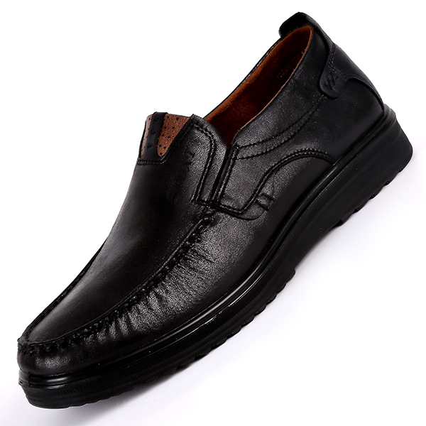 Mens-Large-Size-Leather-Shoes-Retro-Soft-Sole-Casual-Driving-Antislip-Loafers