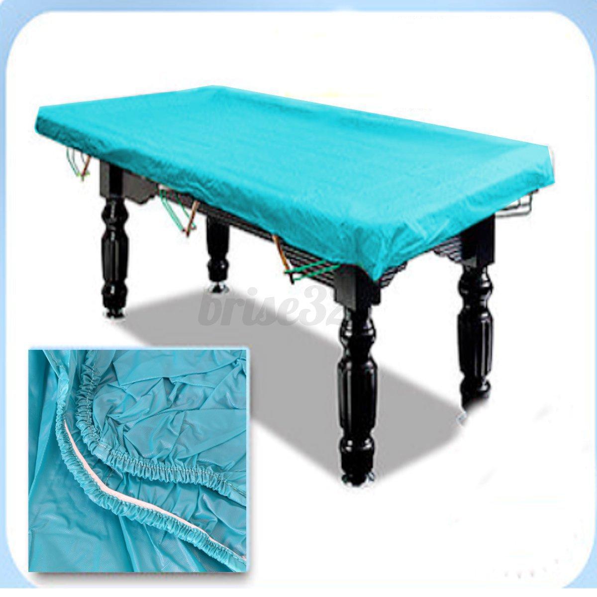 7ft 8ft rubber waterproof cover dustproof cloth for pool snooker billiard table ebay. Black Bedroom Furniture Sets. Home Design Ideas