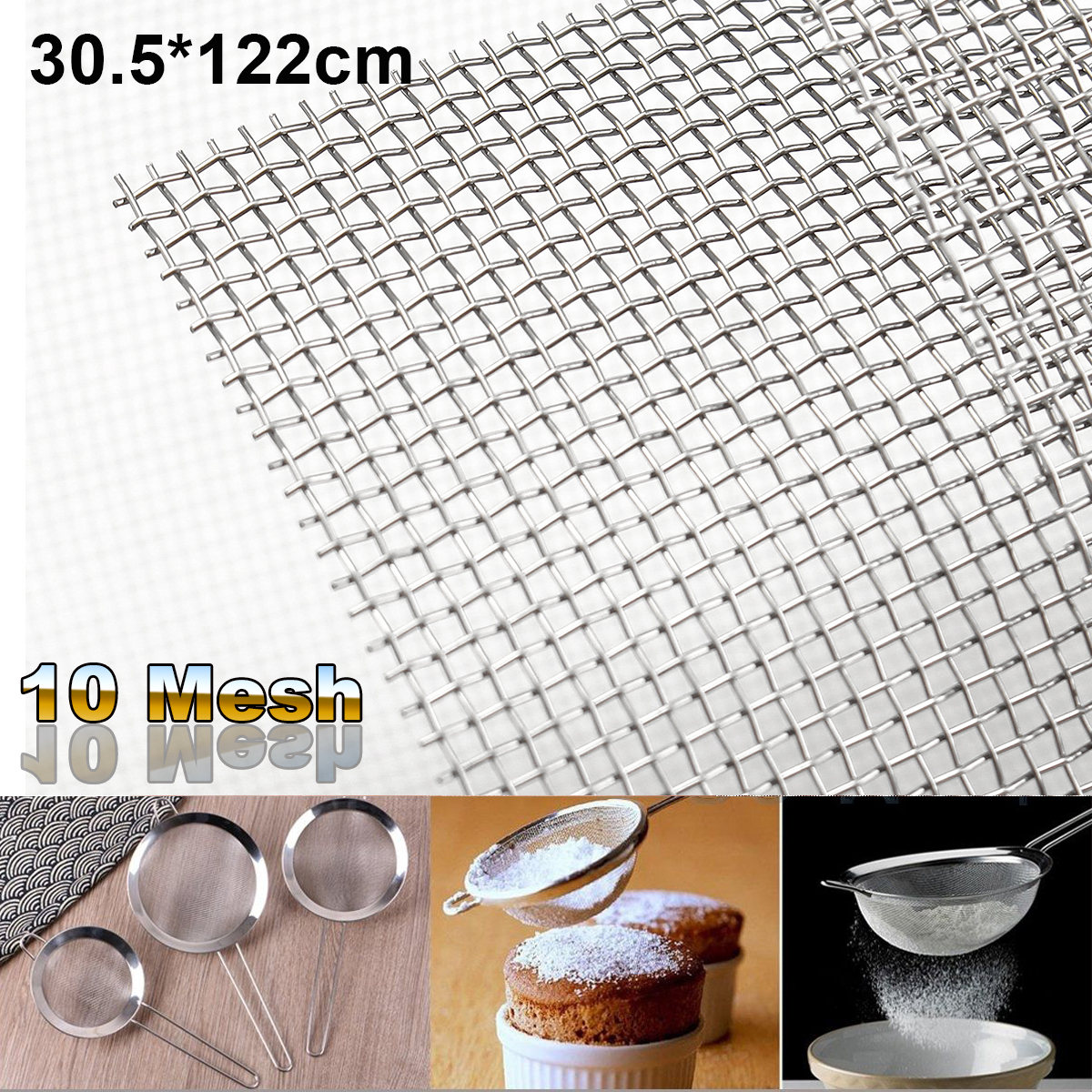Awesome Stainless Steel Woven Wire Cloth Ornament - Wiring ...