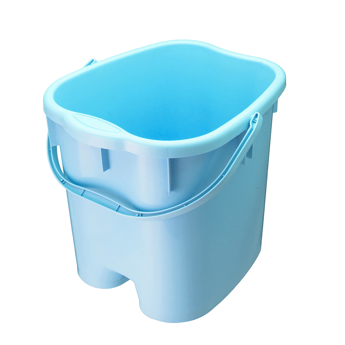 3 Colors Foot Soaking Bucket ABS Plastic Foot Detox Spa Bath Bucket ...